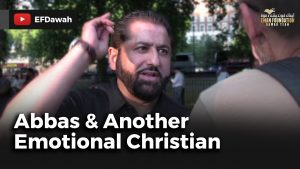 Abbas & Another Emotional Christian