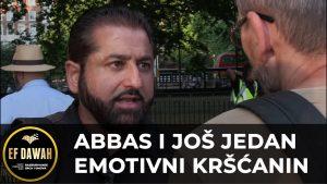 Abbas i još jedan emotivni kršćanin