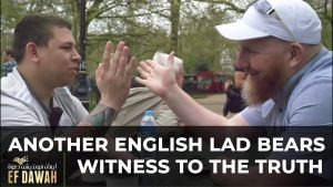 Another English Lad Bears Witness To The Truth || Shahada Corner