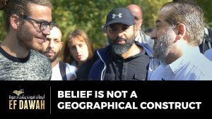 Belief Is Not A Geographical Construct