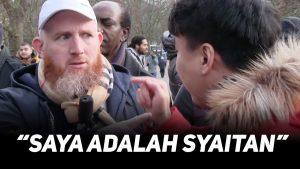 DEBAT PANAS!! Hamza Mendebat Tan