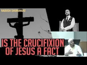 DEBATE - Is the Crucifixion of Jesus a Fact - Aqil Onque Vs Pastor Angelos