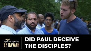 Did Paul Deceive The Disciples?