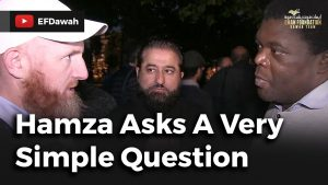 Hamza Asks A Very Simple Question