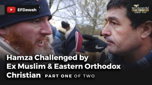 Hamza Challenged By Ex Muslim & Eastern Orthodox Christian | Pt 1 of 2
