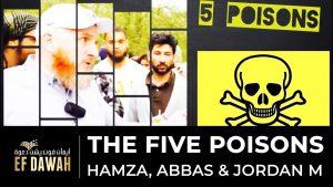 **LIVE** Hamza, Ayaz, Abbas & Jordan M - 5 Poisons