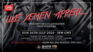 Live Yemen Crisis Appeal with UWT