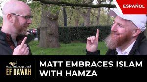 Matt abraza el Islam con Hamza | Spanish Subtitles