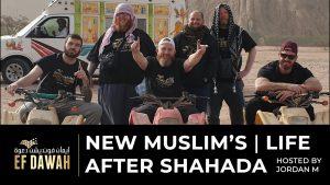 NEW MUSLIMS - Life after Shahada. Hamza, Jordan, Ben, Isa, Martin