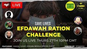Revert Refugee Ration Challenge Fundraiser