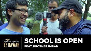 School Is Open Featuring Br Imran