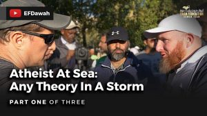 Atheist at Sea: Any Theory In A Storm | Pt 1 of 3 | Hamza & Imran With Skydivephil