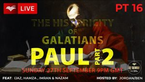 Testing The Historicity Of Galatians | Paul Pt 2