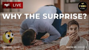 Why the surprise?  Abbas & Jordan M